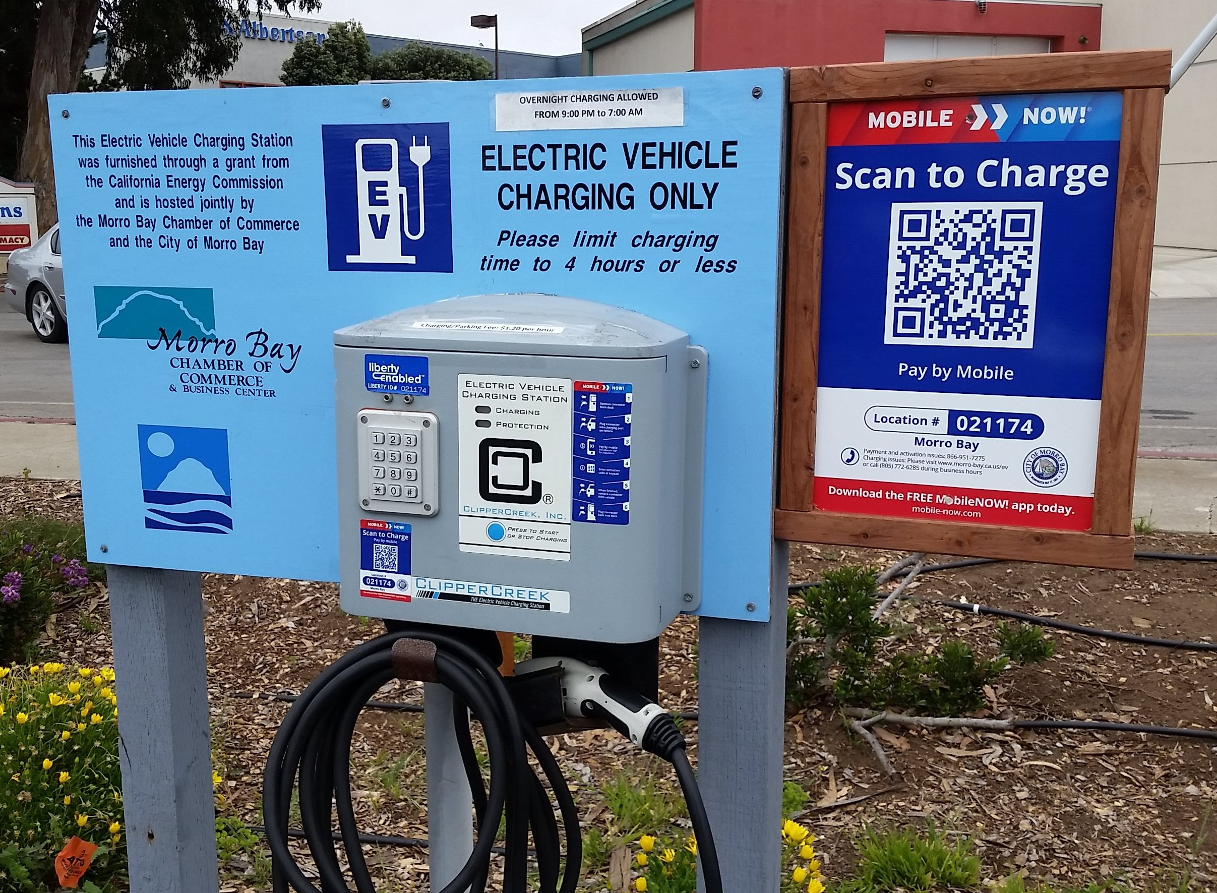 EV Charging Stations | City of Morro Bay - Official Website
